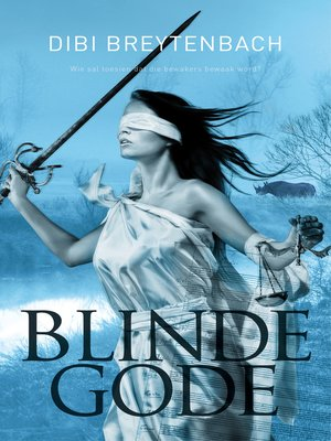 cover image of Blinde gode